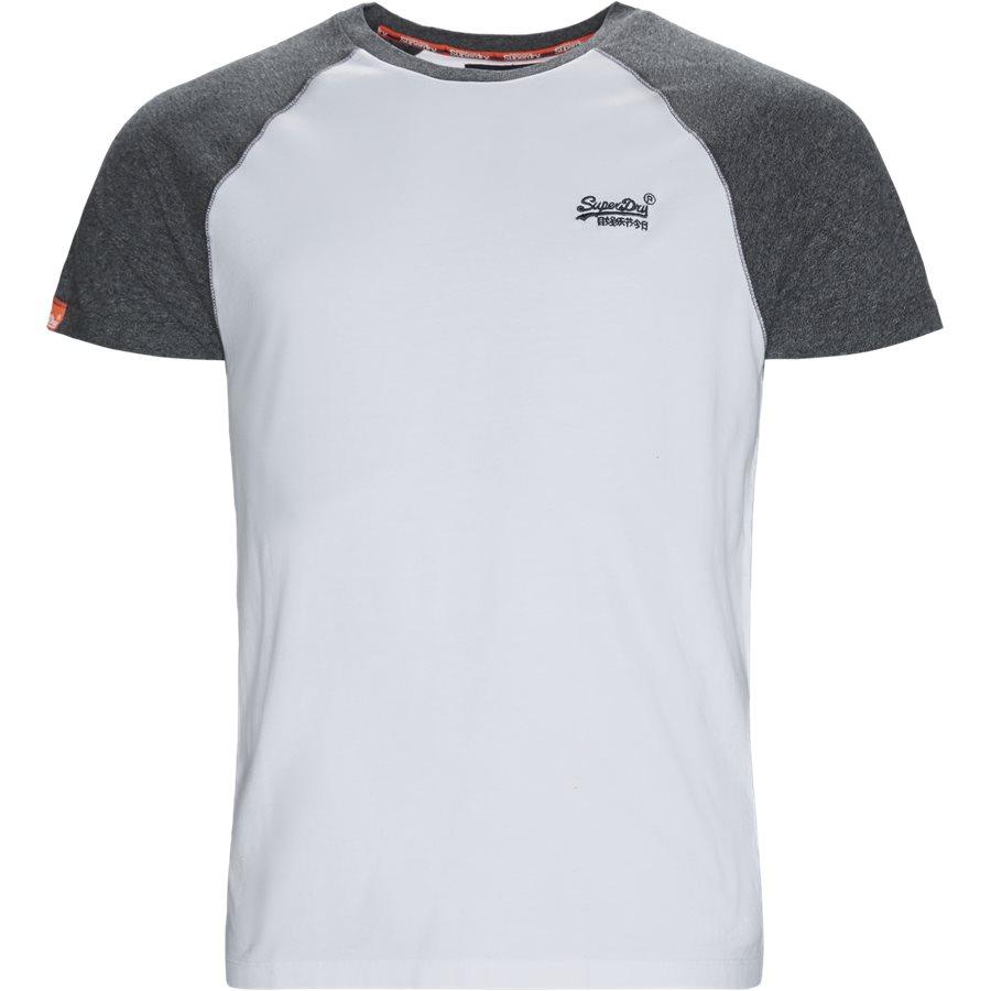 M1010 - M1010 T-shirt - T-shirts - Regular - HVID/GRÅ 01C - 1